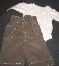 NEXT TROUSERS & TOP OUTFIT AGE 3-6 MONTHS