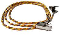 Orange Yellow Blue Eyeglass Cord, Clip Eyeglass Chain, Glasses Lanyard Cord, 327