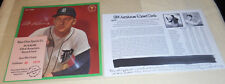 1964 auravision record card al kaline gem mint grade with COA