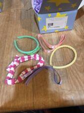 Magic Attic Club Set Of 5 Headbands Green Yellow Purple Pink Doll 16�-18� New