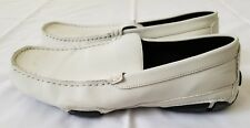 Mens Size 11M White Kenneth Cole Reaction World Hold On Loafer Shoes (pre-owned)