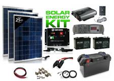Portable Solar Power Generator 3000/1500Watt 200Ah & 300Watt Solar Panel+Battery