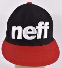 Black Neff Headwear Fashion Co Embroidered baseball hat cap adjustable Snapback
