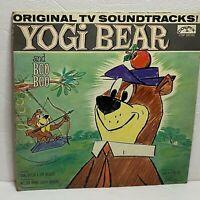 Yogi Bear And Boo Boo: Colpix Records LP 1961 Vinyl (Children's)