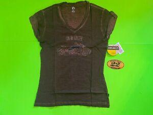 Can-Am Women's Jess Brown T-Shirt  **BRAND NEW**