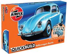 Airfix QUICK BUILD Light Blue Volkswagen VW Beetle Plastic Model Kit J6015