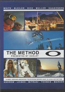 RARE 6 DVD Set Snowboarding  THE METHOD Oakley SnowRiders TV Series 2006