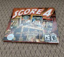 Score 4 -Curse Montezuma/Treasure Masters/Magic Encyclopedia/Stolen Venus
