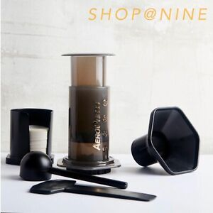 Aeropress Coffee Espresso Maker Kit with 350 Filters 100% Genuine Brewer in RED