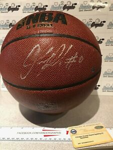 D'ANGELO RUSSELL SIGNED AUTOGRAPHED #0 BASKETBALL STEINER COA TIMBERWOLVES