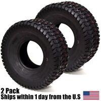 2PK 15x6.00-6 15-6.00-6 4PLY P512 Turf Riding Lawn Mower Go Kart Tires