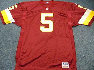 VINTAGE UNWORN STARTER AUTHENTIC NFL WASHINGTON REDSKINS #5 JERSEY SIZE 48