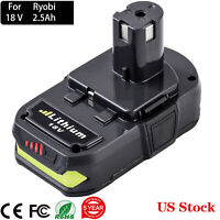 FOR Ryobi ONE+ 18V 18Volt 2.5Ah P108 P102 P103 P104 P190 Lithium-Ion BATTERY NEW