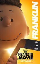 The Peanuts Movie (2015) Movie Poster (24x36) - Charlie Brown, Franklin v12