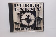 Greatest Misses by Public Enemy  Audio CD