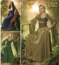 Arwen dress PATTERN Eowyn Fantasy Elf Princess Simplicity 4940 20 22 24 26 LARP