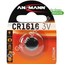 1 x Ansmann CR1616 3V Lithium Coin Cell Battery 1616 DL1616 KCR1616, BR1616