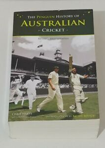 The Penguin History of Australian Cricket Intro by Richie Benaud 862 pages!