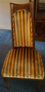 Vintage Solid Wood High Back Dining Side Chair - VGC - BEAUTIFUL VINTAGE CHAIR