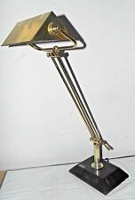 """LAMP HOTEL STYLE A 29""""H BRASS EXTENSION POWER MUTLI-FUNCTION STUDENT LAMP COOL!"""
