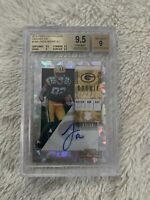 2018 Contenders Rookie Ticket Cracked Ice #136A J'mon Moore RC Auto BGS 9.5 9