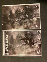 STAR WARS ADVENTURES #1 DARTH VADER PEACH MOMOKO VIRGIN VARIANT SET IN HAND