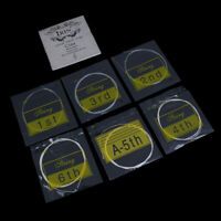 A set Classical guitar strings nylon silver plated copper alloy strinP1