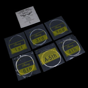 1 pezzi / set Corde per chitarra classica in nylon argento placcato corde iWEH
