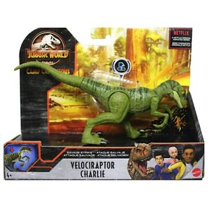 Jurassic Park World VELOCIRAPTOR CHARLIE Strike Dinosaur Toy Figure