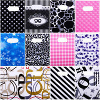 18*13cm 100X Jewelry Candy Gift Plastic Bags Pouches Mixed Classic Pattern