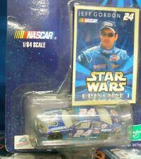 1999 Jeff Gordon Star Wars Episode I #24 1/64 scale die cast Nascar and card NEW