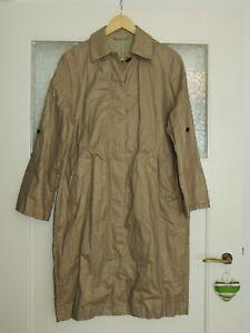 NEU* Klasse Mantel Zara, Gr.L, beschichtete Oberfläche, beige!