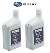 2 Liters Auto Trans Fluid CVTF-II Green for Subaru Crosstrek Forester Impreza