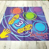 Hasbro 2005 Twister Moves 4 Replacement 30x30 Mats Only