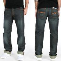 neu Nudie Herren Regular Fit Jeans Hose | Straight Sven Coated Denim