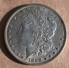 USA 1898 Silver Morgan Dollar. Extremely Fine Condition