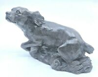 Heredities Limited Kirkby Stephen England Hunting Dog Miniature Figurine