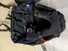 Edel paragliding harness with emergency chute