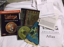 Origin Ultima Collection 10 Games Windows 95/98 PC Almost Complete w/Guide VG+