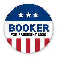 2020 Cory Booker For President Campaign Buttons 5