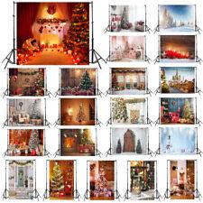 3x5ft Christmas Vinyl Wall Floor Studio Photo Background Photography Backdrop