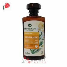 Herbal Care Chamomile Shampoo for Bleached and Blonde Hair 330ml Farmona