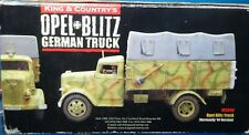 king & country 60mm ww2 German Opel+Blitz Normandy 44'version 2008 WS090 miboop