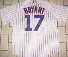 2c9f8505 Majestic Athletic Men's Chicago Cubs Kris Bryant 2015 Cool Base Home Jersey  Large