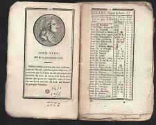 INDICATEUR DE LA COUR DE FRANCE et des départements = 1815 Paris chez TIGER