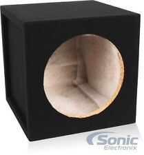 "Belva 10"" Sealed 3/4"" MDF Single Subwoofer/Sub Enclosure Box (0.77 Cubic Feet)"