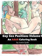 Gay Sex Positions Volume 1 : An Adult Coloring Book: By Syde, Justin