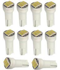 10x ampoule T5 12V 3LED SMD blanche pour tableau de bord auto voiture