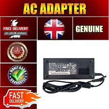 TOSHIBA SATELLITE A65 GENUINE DELTA ADAPTER 120W AC CHARGER POWER SUPPLY UK