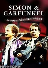 SIMON & GARFUNKEL - ACROSS THE AIRWAVES - RARE CLIPS DVD - FREE POST IN UK